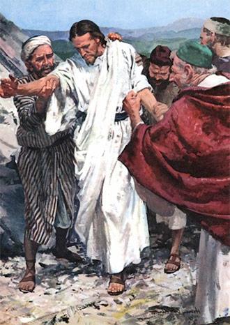 Resultado de imagen para EN aquel tiempo, los judíos agarraron piedras para apedrear a Jesús